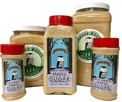 Maple Sugar - Made From Pure Vermont Maple Syrup - Free Shipping ()