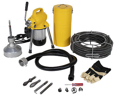 Steel Dragon Tools K50 Drain Cleaning Machine Fits Ridgid C8 Snake Sewer Cable