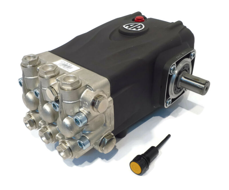 PRESSURE WASHER PUMP replaces General TS1011 - 4000 PSI, 3.96 GPM Solid Shaft