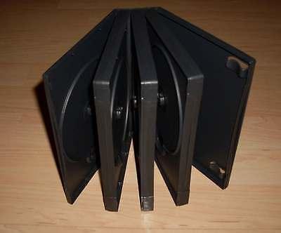DVD Hülle Case Cases 7fach 7er DVDhülle Hülle für 7 DVDs 52mm Nexpak Neu