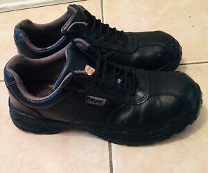 Chaussure Original de sécurité Royer Taille 10,5 en vrai cuir
