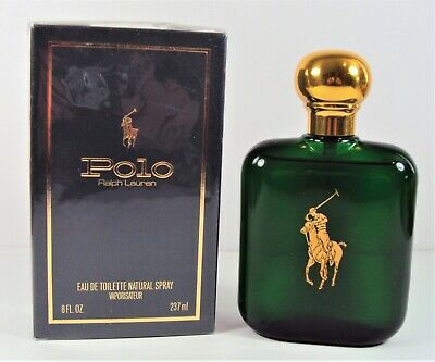 POLO GREEN By Ralph Lauren 8oz / 237ml Eau de Toilette SPRAY NEW IN BOX *SEALED*