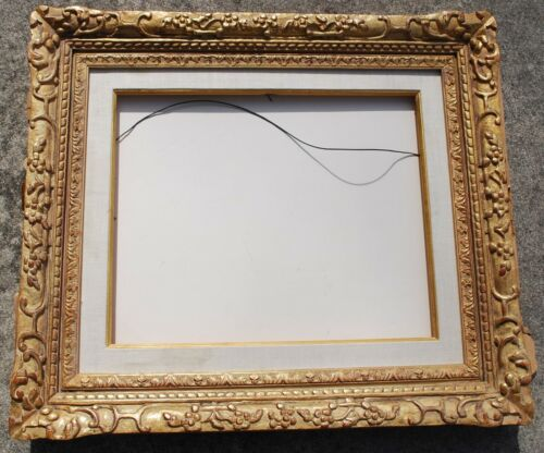 Fabulous  carved and gilded frame for 16 x 20 painting