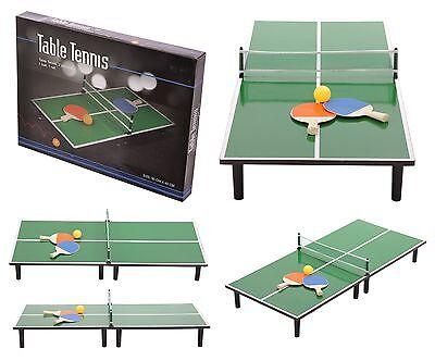 PING PONG - tennis tavolo da camera (cm 90x40x20), rete, racchette, pallina