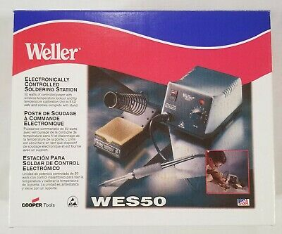 New Weller Wes50 Electronically Controlled Soldering Station