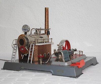 Elektrische Wilesco Dampfmaschine D20  um 1960 mit Funktion