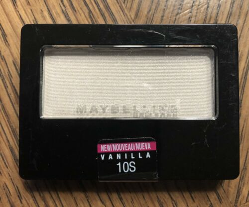 Maybelline Expert Wear Eyeshadow Single, Vanilla, .09 oz