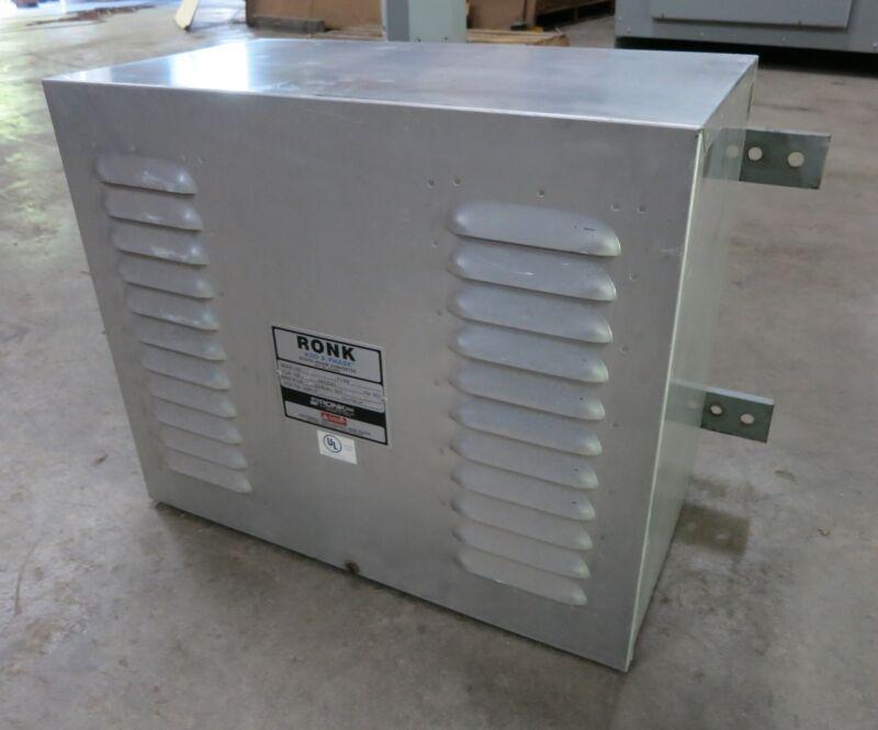Ronk Static Phase Converter 6HP Type 2K Model 96 240V 26 FLA 1PH Add-A-Phase