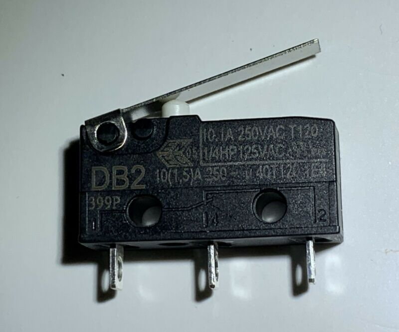 ZF DB2 Series Micro Switch 10A 250VAC SPDT DB2C-A1LA
