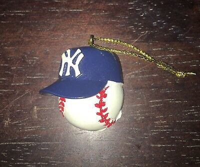 NWOT! Christmas Ornaments for the New York Yankees Baseball Fan - Holiday SALE! (Christmas Ornaments For Sale)