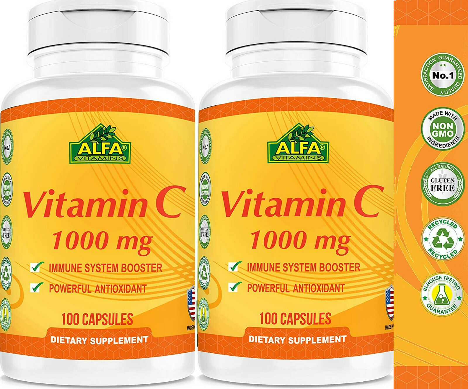 VITAMIN C 1000mg 200  High Absorption Liposomal Immune Support Booster vitamina