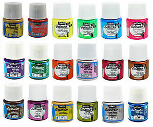 57-COLOURS-PEBEO-SETACOLOR-FABRIC-PAINT-GLITTER-OPAQUE-SHIMMER-SUEDE-FLUORESCENT