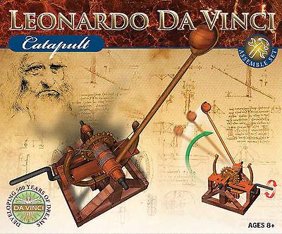 NEU Leonardo da Vinci Katapult Modell Bausatz