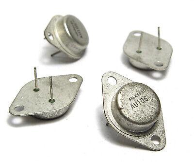 NOS 2 N 1306 mit Goldpins 5x USA Germanium Transistor 2N1306 70er J.