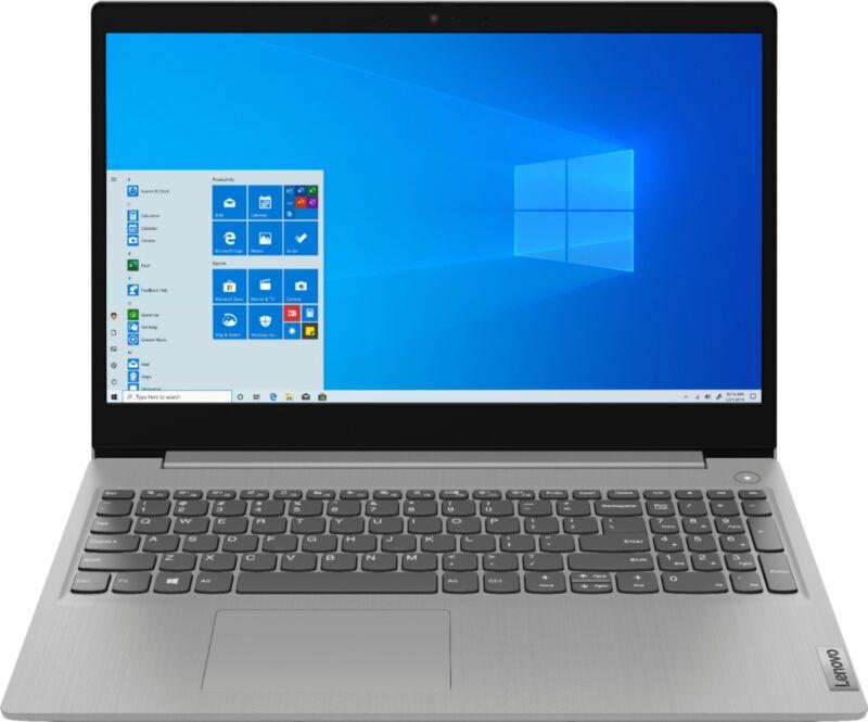 "Lenovo - Ideapad 3 15 15.6"" Laptop - AMD Ryzen 3 - 8GB Memory - 128GB SSD - P..."