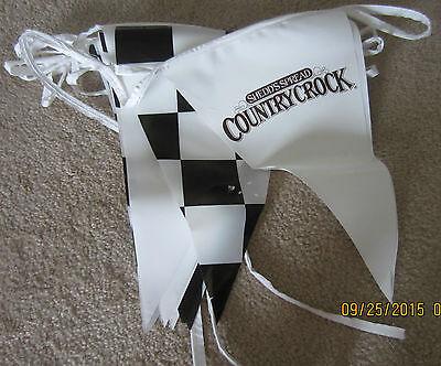 Shedd's Spread Country Crock/Ragu/Lipton/Wisk/Hellmann's/Klondike Racing Banner