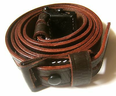WWII GERMAN K98 98K RIFLE LEATHER RIFLE CARRY SLING