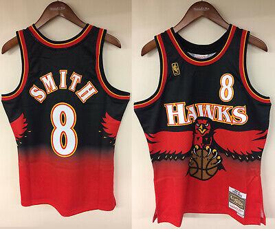 Steve Smith Atlanta Hawks Mitchell & Ness NBA 1996-1997 Authentic Jersey HWC