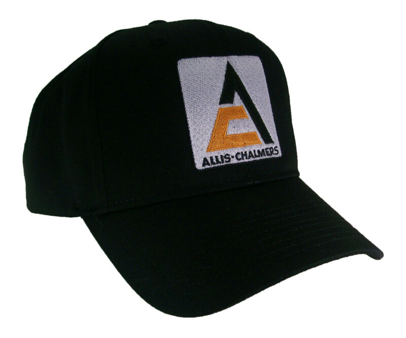 Allis-chalmers A-c Logo Tractor Embroidered Farm Cap Hat #40-8900