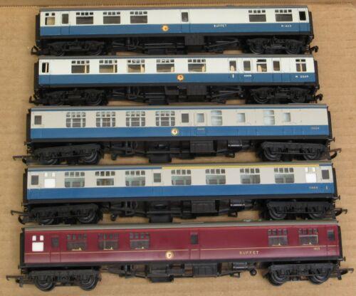 Tri-ang British Railway 5-Car Passenger Set OO-Scale