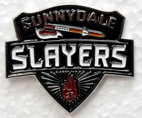 "Buffy The Vampire Slayer TV Series Sunnyvale Slayer 1.25""  Metal Pin (BFPI-03)"