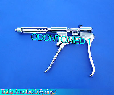 2 Dental Tralig Anesthesia Syringe Surgical Instruments