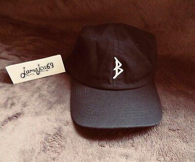 Brotherhood cap snapback hat black brand new baseball rare B one size skate moto