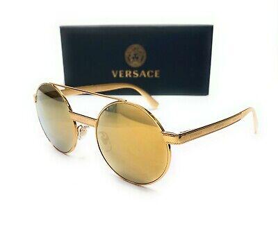 Versace VE2210 1455 7P Gold Women's Pillow Sunglasses 58mm
