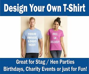 Custom-IMAGE-Printed-Tshirts-Personalised-STAG-HEN-PARTY-FUN-WORK-SCHOOL