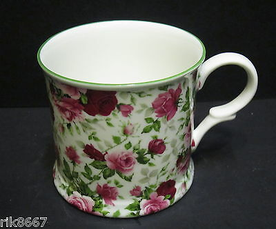 1 Summertime Small English Fine Bone China Mug Cup By Milton China Small Bone China