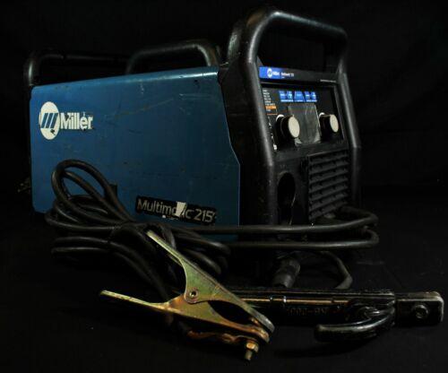 Miller Multimatic 215 Multiprocess Welder without MIG Gun