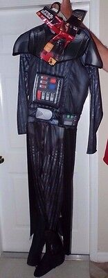 mens NEW NWT size small DELUXE DARTH VADER STAR WARS HALLOWEEN COSTUME DISNEY @@](Size Small Mens Halloween Costumes)