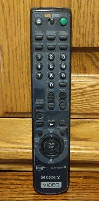 Sony RMT-B119A VCR Plus TV Remote Control