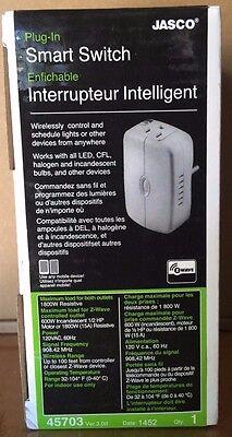 Brand New GE Jasco 45703 Z-WAVE Wireless Plug-In On/Off Appliance Module