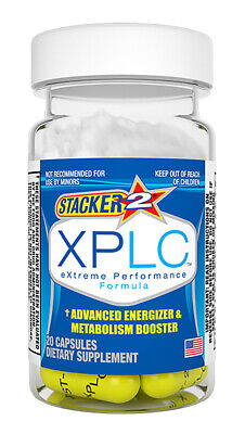 Stacker XPLC 2 Weight Loss & Energy Dietary Supplement New, Sealed Exp -
