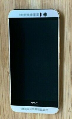 HTC One M9 - 32GB - Gold on Silver (Sprint) Smartphone Good Condition Clean IMEI