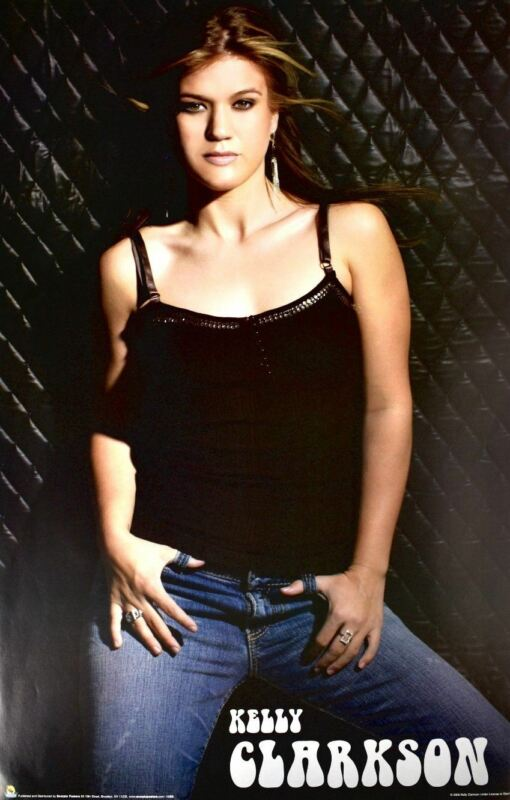 Kelly Clarkson Out of Print 2006 Poster 22.5 x 34.5