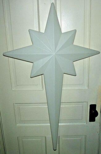 "Vintage 1993 Christmas Blow Mold Union 39"" Nativity Scene Star Blowmold"