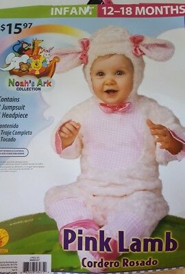 Noah's Ark Collection (Pink Lamb) Costume Infant size 6-12 mos.