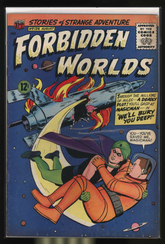 FORBIDDEN WORLDS #129