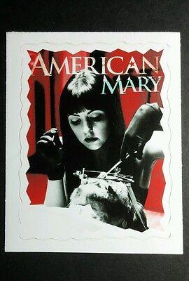 AMERICAN MARY KATHARINE ISABELLE HORROR STILL SCENE VINYL 2.75x3.5 MOVIE STICKER
