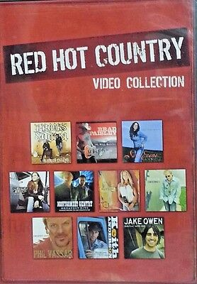 Red Hot Country Video Collection    DVD  LIKE NEW