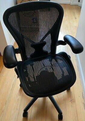 Nyc Herman Miller Aeron Office Chair - Black 2
