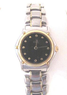 1911 Ladies Wrist Watch - Ebel 1911 Stainless Steel & 18k Gold Ladies Wrist Watch Swiss Quartz