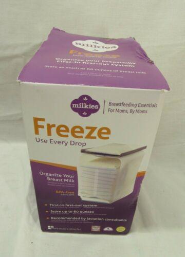 Fairhaven Health Milkies Freeze Breast Milk Organizer Breat Milk Storage OPEN
