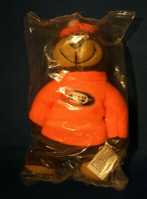 "Vintage A&W Root Beer Bear Plush - Circa 1997 - 6"" NIP"