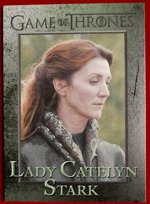 GAME OF THRONES - LADY CATELYN STARK - Season 3 - Card #51 - Rittenhouse 2014