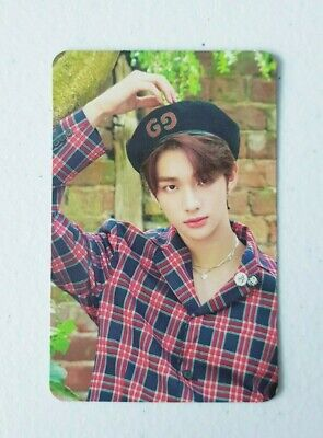 """Stray Kids HyunJin Limited Photocard - Official Photobook """" Stay in London """""""