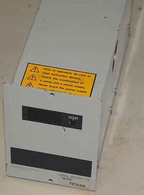 Osaka Tc530 Turbo Vacuum Pump Controller