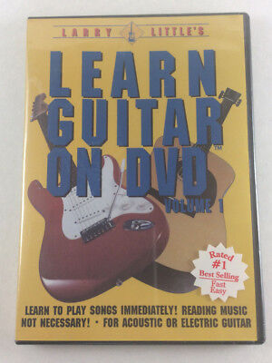 Larry Little's Learn Guitar on DVD Volume 1 Video Acoustic Electric New & Sealed